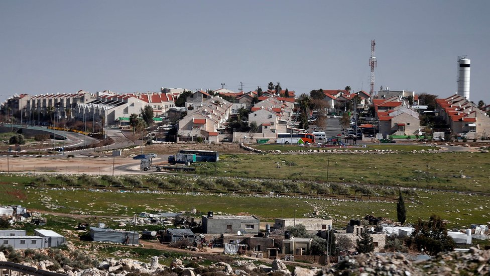 Jewish settlement of Adam in the occupied West Bank