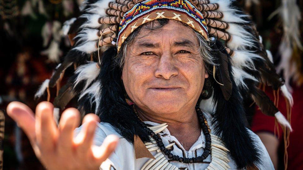hombre quechua