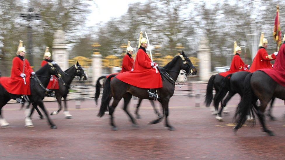 Kraliyet atlı güvenlik