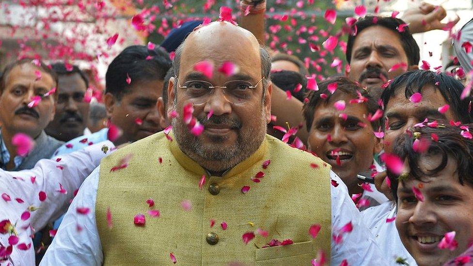 अमित शाह: बीजेपी को हर चुनाव में जीत दिलाने वाले 'चाणक्य' के साथ क्या हो गया? - नज़रिया