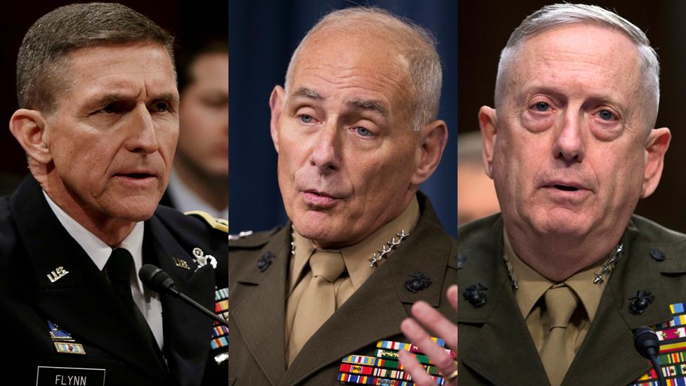 Por que Trump está indicando tantos militares para compor seu gabinete? -  BBC News Brasil