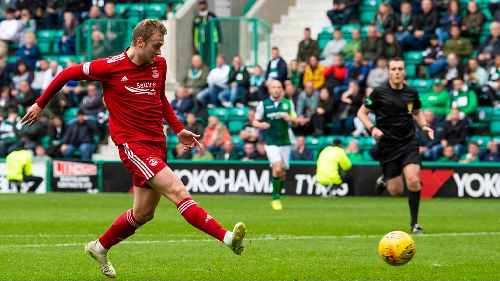 Highlights: Hibernian 1-2 Aberdeen, Scottish Premiership