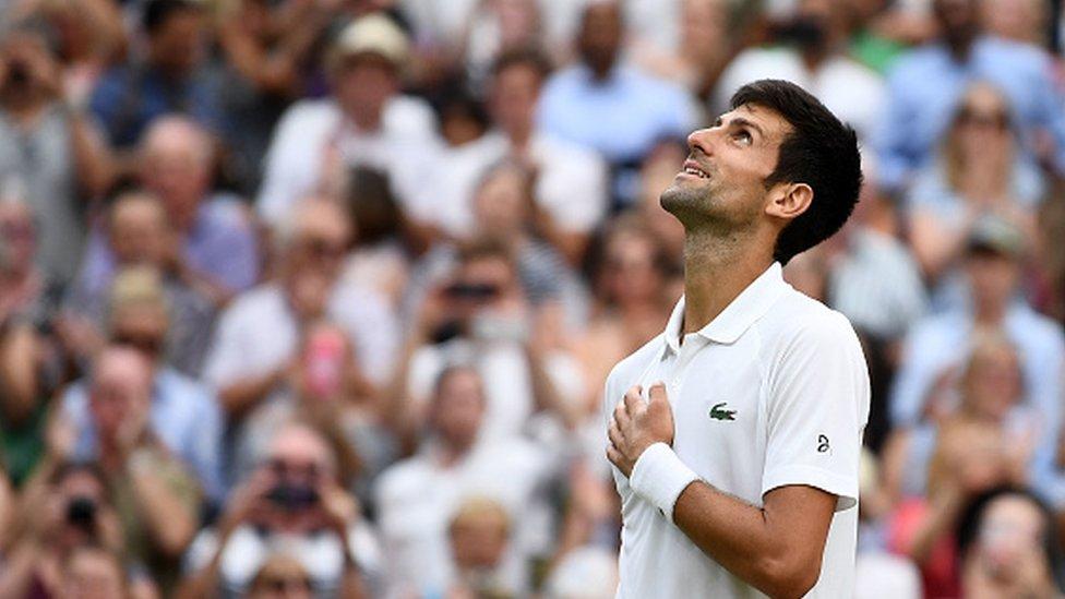 Šta god da bude u finalu, Novak se vratio