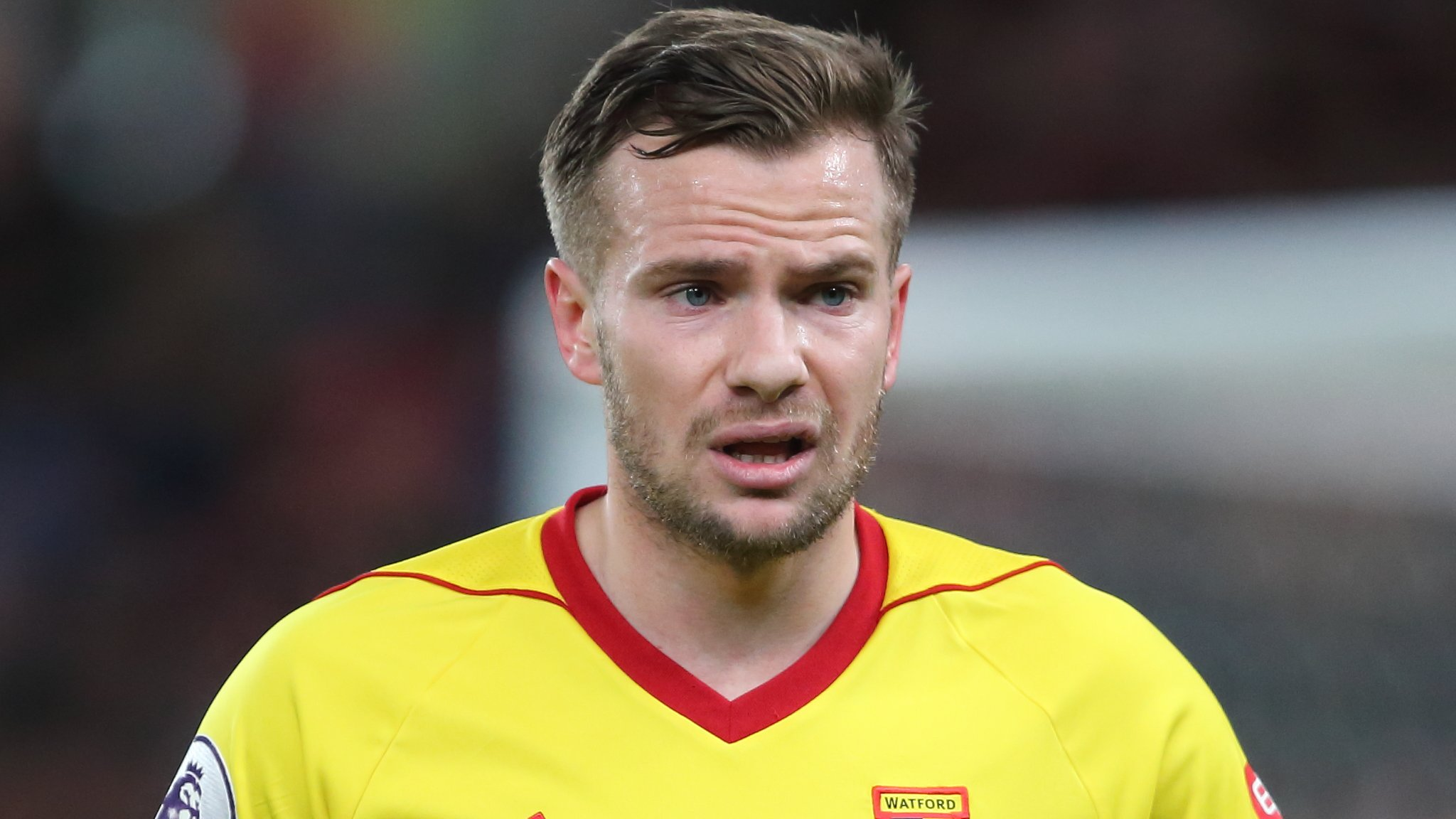 Tom Cleverley: Watford midfielder has surgery on Achilles problem