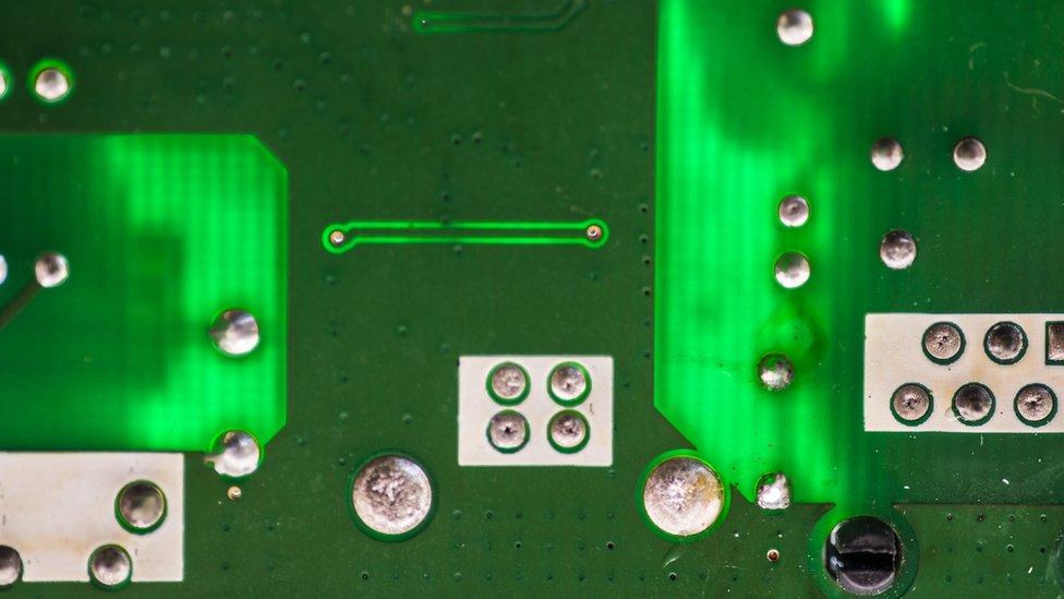 Circuito electrónico.