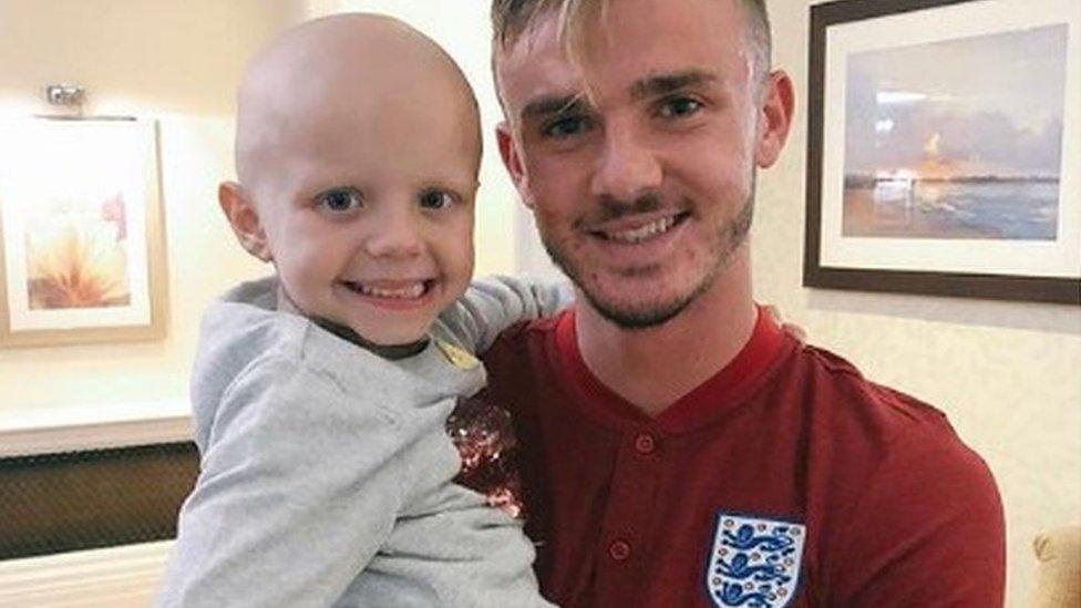 Girl who won footballer's heart dies