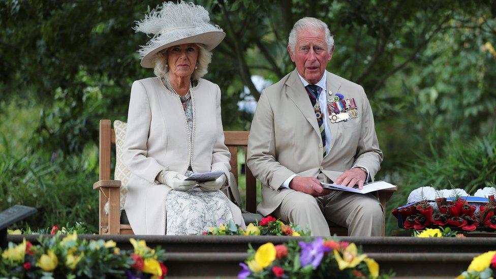 英國王儲查爾斯與卡米拉