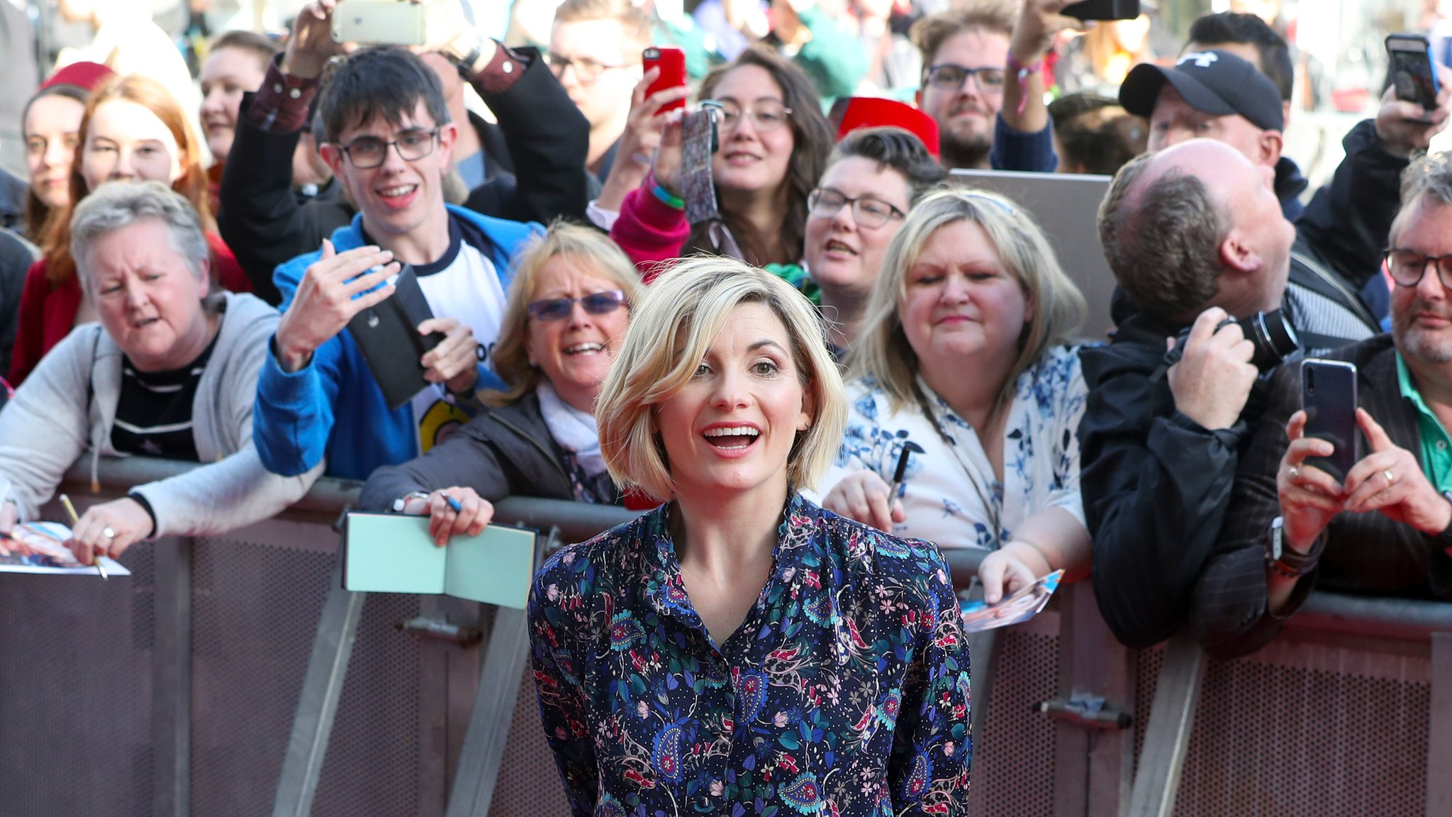 Doctor Who: Jodie Whittaker lands in Sheffield for red carpet premiere
