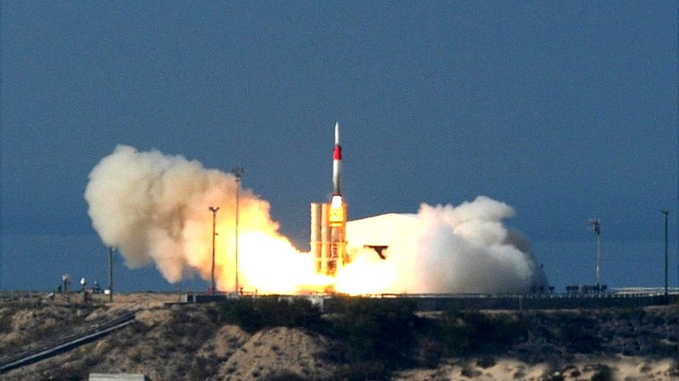 Israeli Arrow missile (file photo)