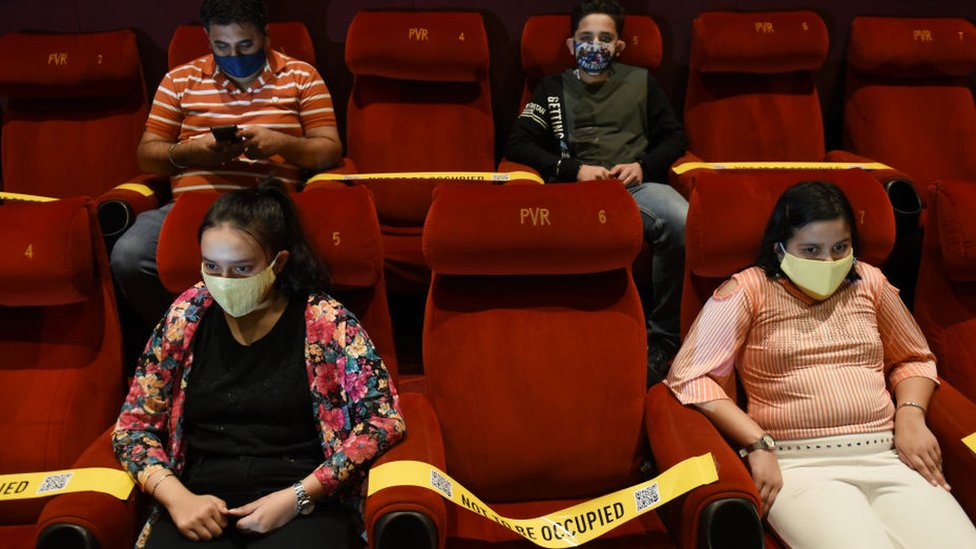 India Covid-19: Bollywood faces biggest box office test as cinemas open thumbnail