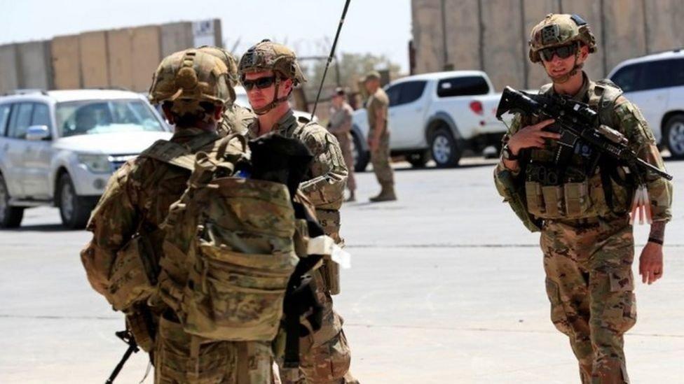 القوات الأمريكية في العراق.