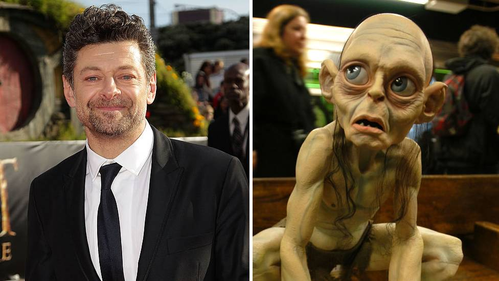 Andy Serkis and Gollum