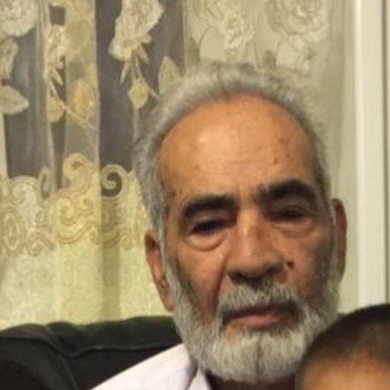 Photo of missing Ali Yawar Jafari
