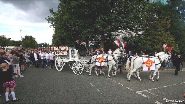 Paul Massey funeral