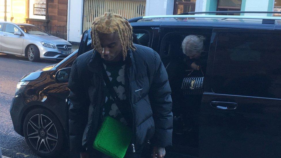 US rapper punched tour bus driver at Gretna service station