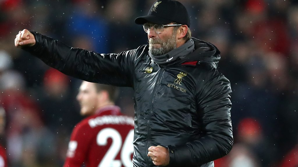 Liverpool 3-1 Man Utd: Jurgen Klopp praises 'aggressive' & 'brave' Reds