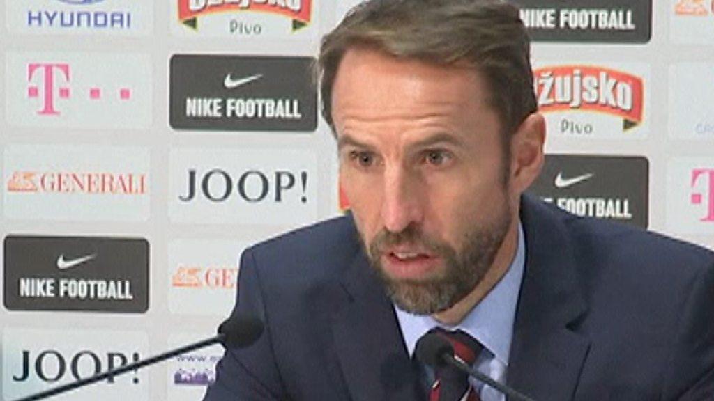 Croatia 0-0 England: England deserved win in Croatia - Southgate