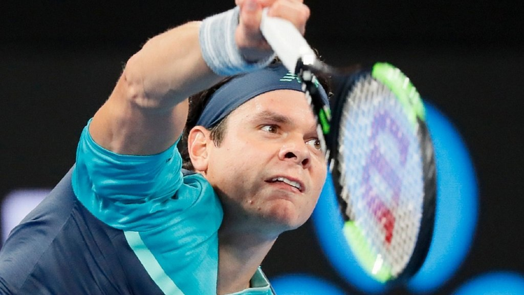 'Scary' Raonic beats Kyrgios; Nishikori survives scare
