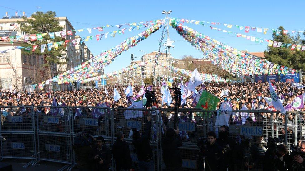 Diyarbakır'daki HDP mitingi