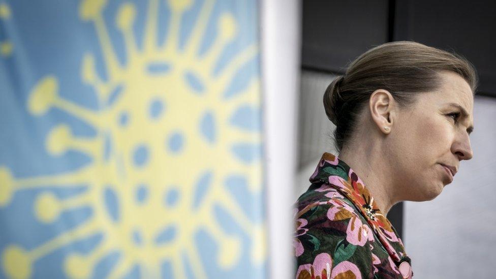Primeiro-ministra Mette Frederiksen