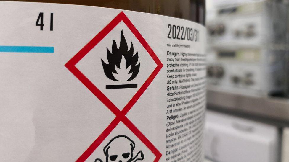 Químicos tóxicos