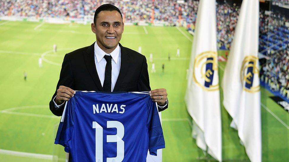 Keylor Navas: