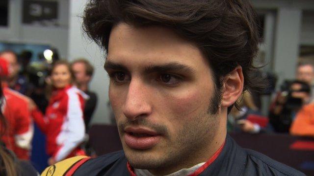 Toro Rosso's Carlos Sainz