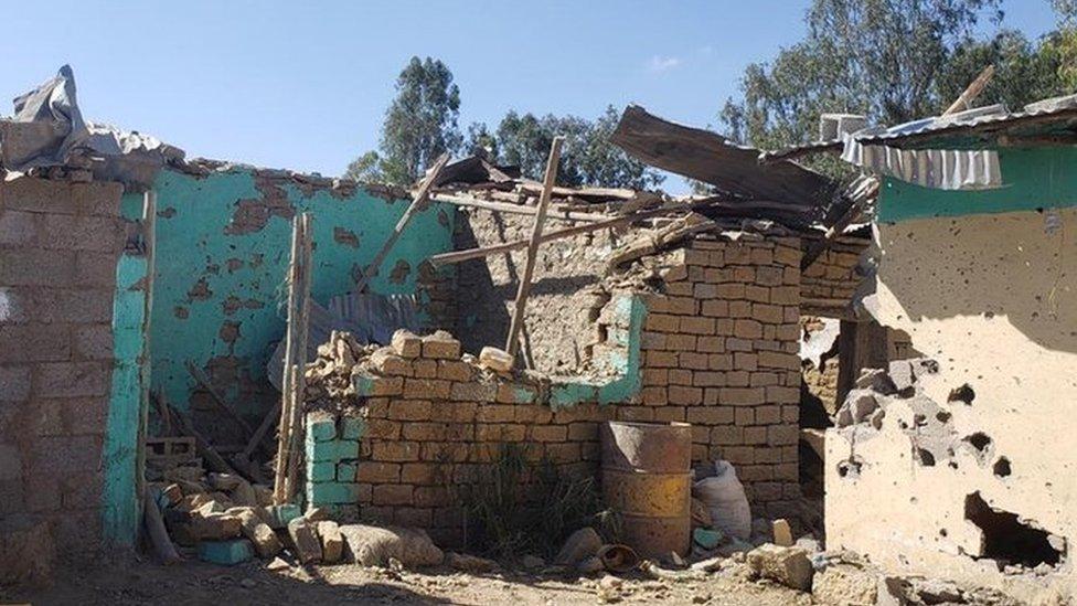 بيت مدمر