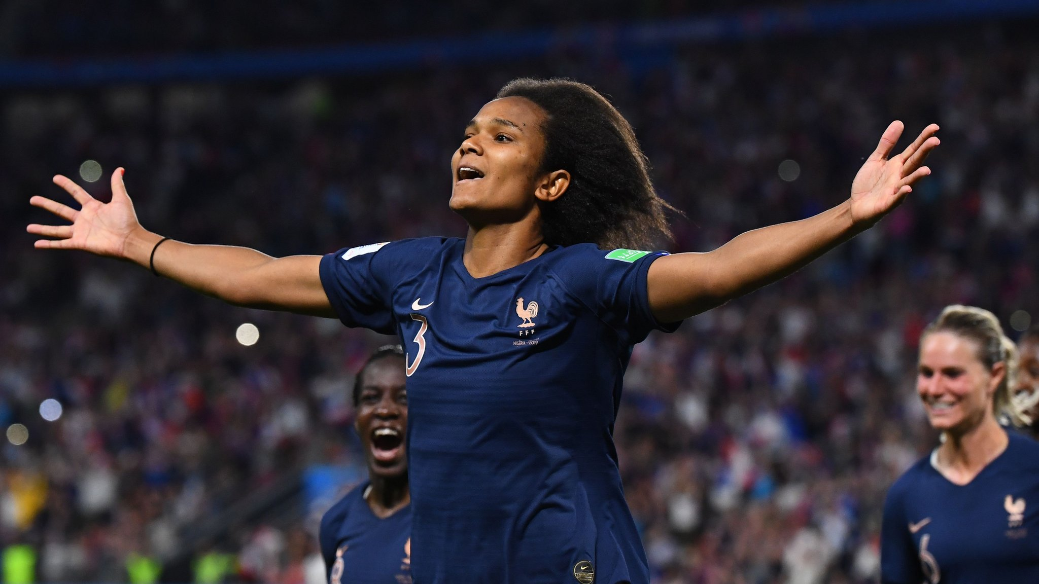 Women's World Cup: Nigeria 0-1 France