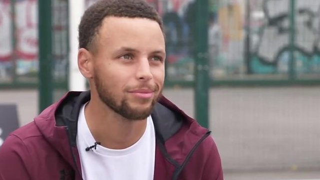 I strive to be great - three-time NBA champion Curry