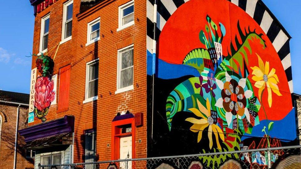 Edificio en Baltimore