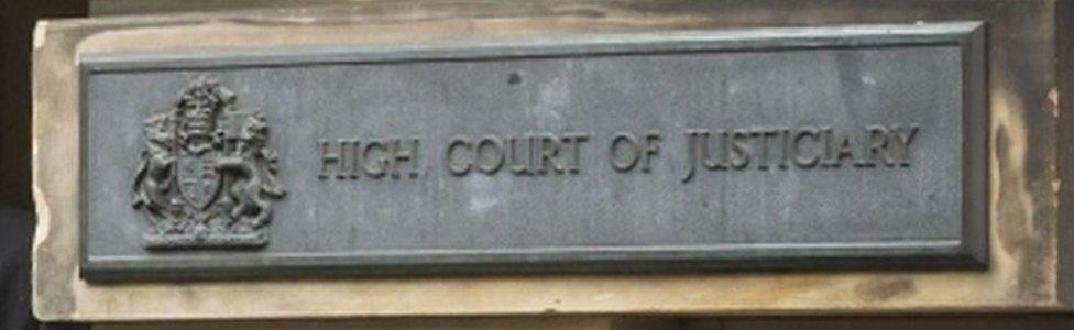 Court sign