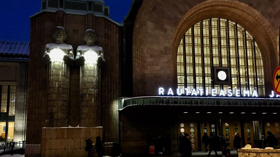 Helsinki station