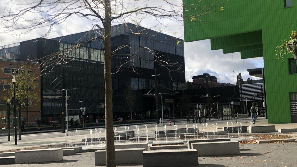 Campus de la Universidad de Utrecht