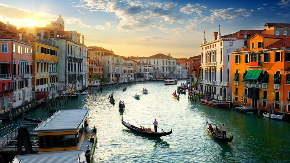 Grand kanal Venecija