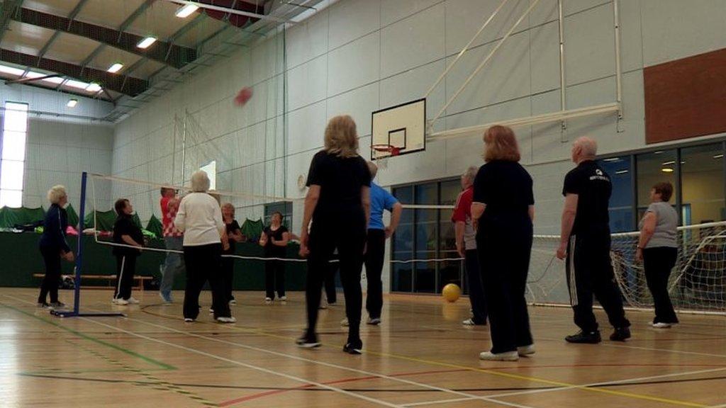Active Tuesday at the Ally McCoist Complex, East Kilbride