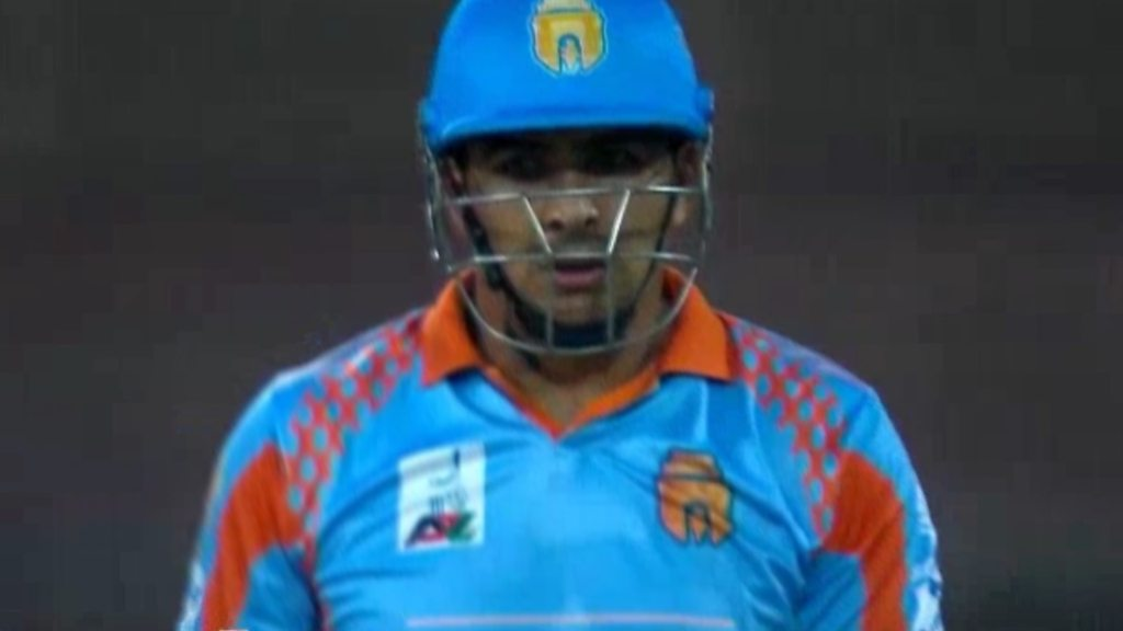 Afghanistan's Hazratullah Zazai hits six sixes in over