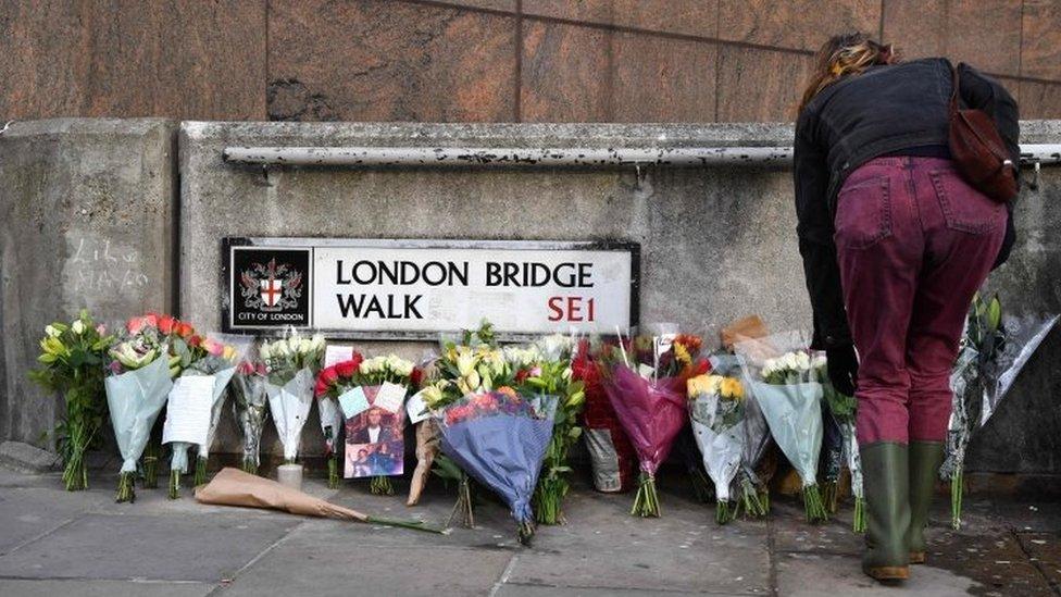London Bridge scene