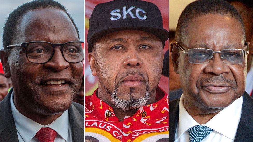 Three main candidates