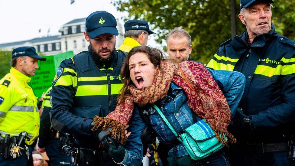 Hapšenje u Amsterdamu