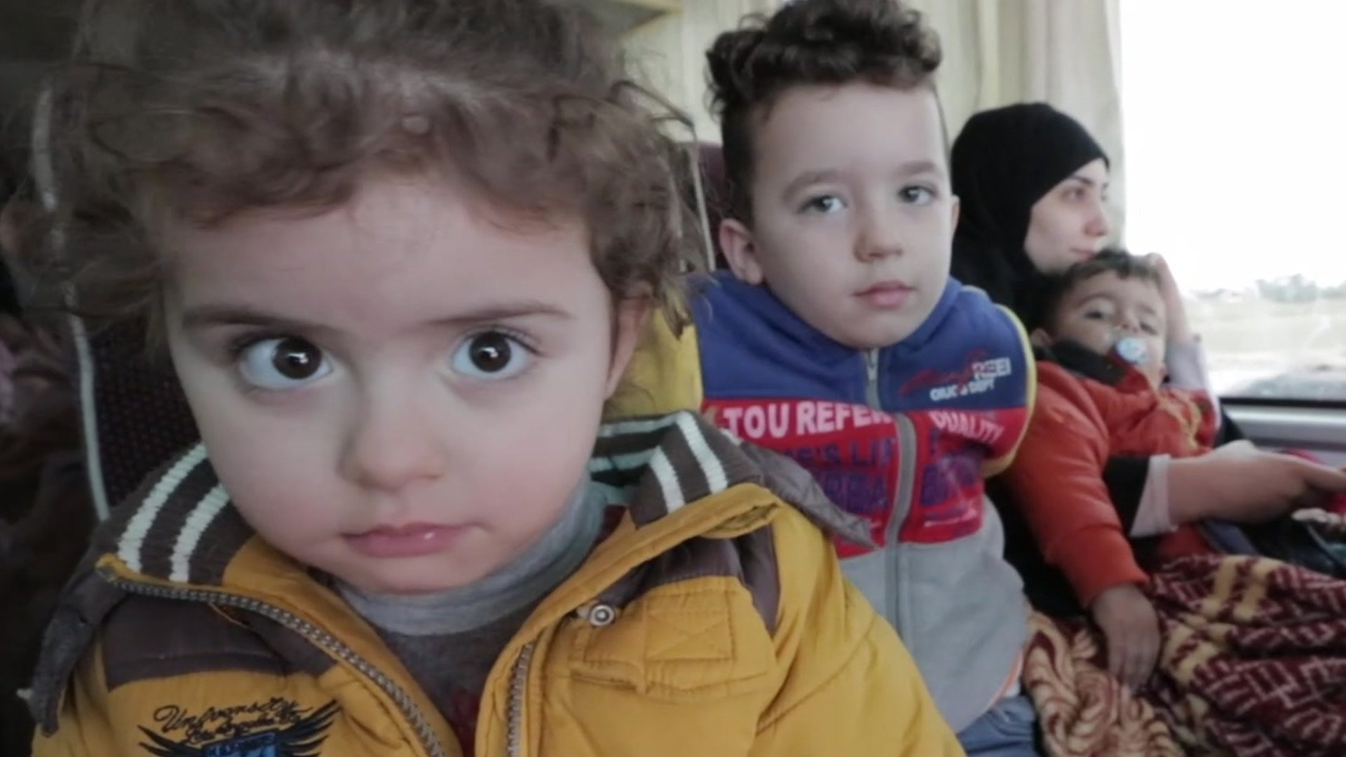 The Syrians returning home after years of fleeing war