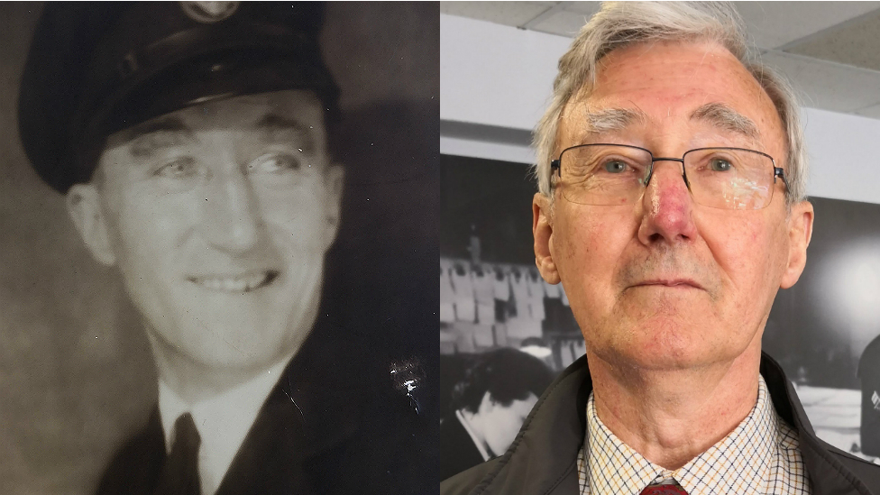 Battle of the Atlantic: Man surprised to see film of dad's WW2 return