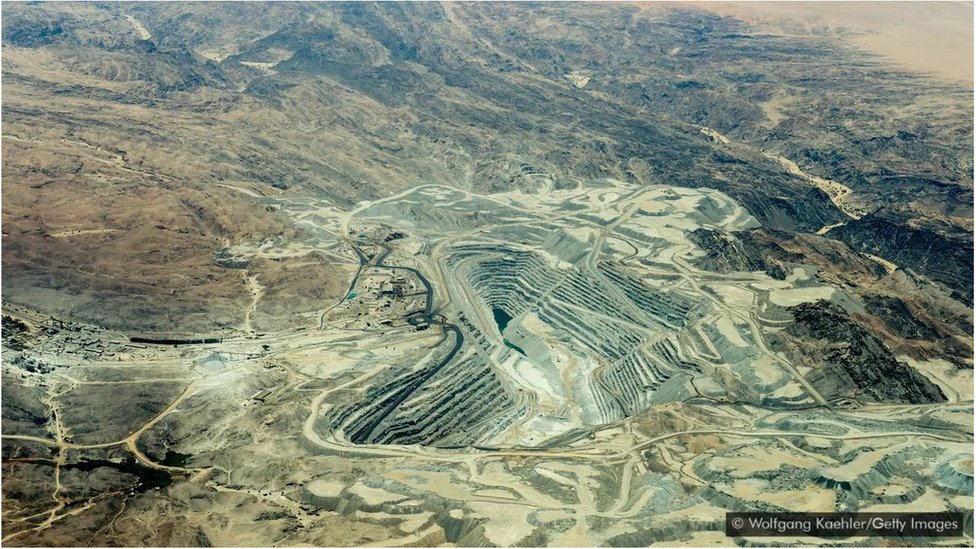 Namibya uranyum madeni