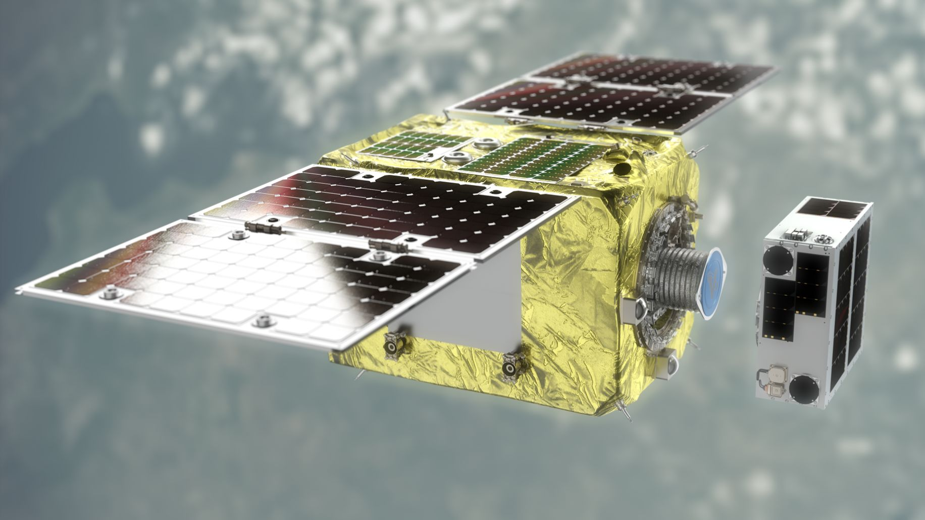 Astroscale space debris removal demo set for launch - BBC News
