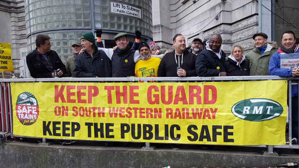 South Western Railway strikes planned for Christmas week