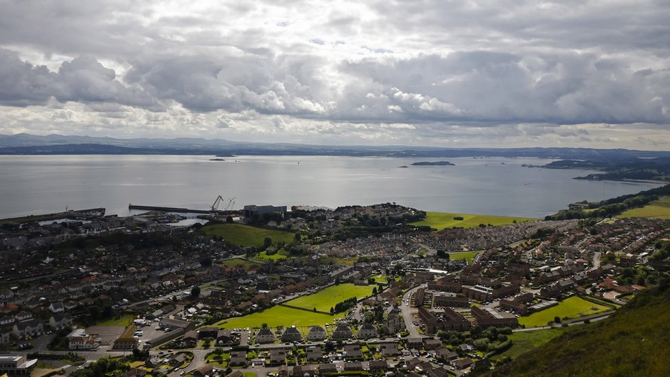 View of Burntisland Shipyard