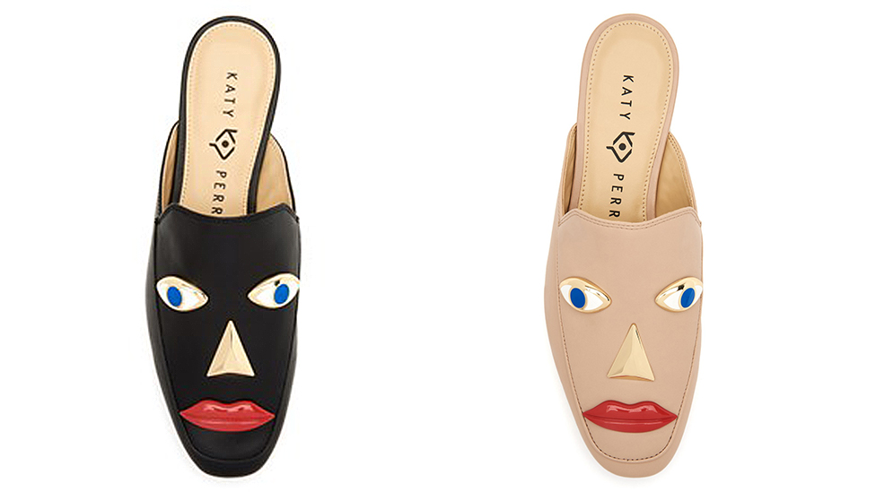 Two versions of the Rue model of shoe