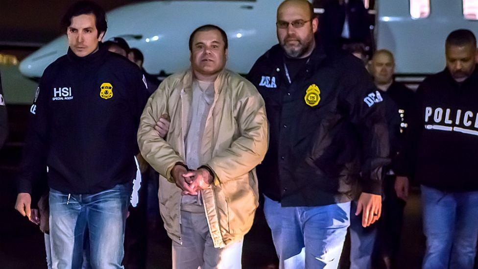 """Joaquín Guzmán Loera, """"El Chapo"""", enfrenta un juicio en Estados Unidos"""