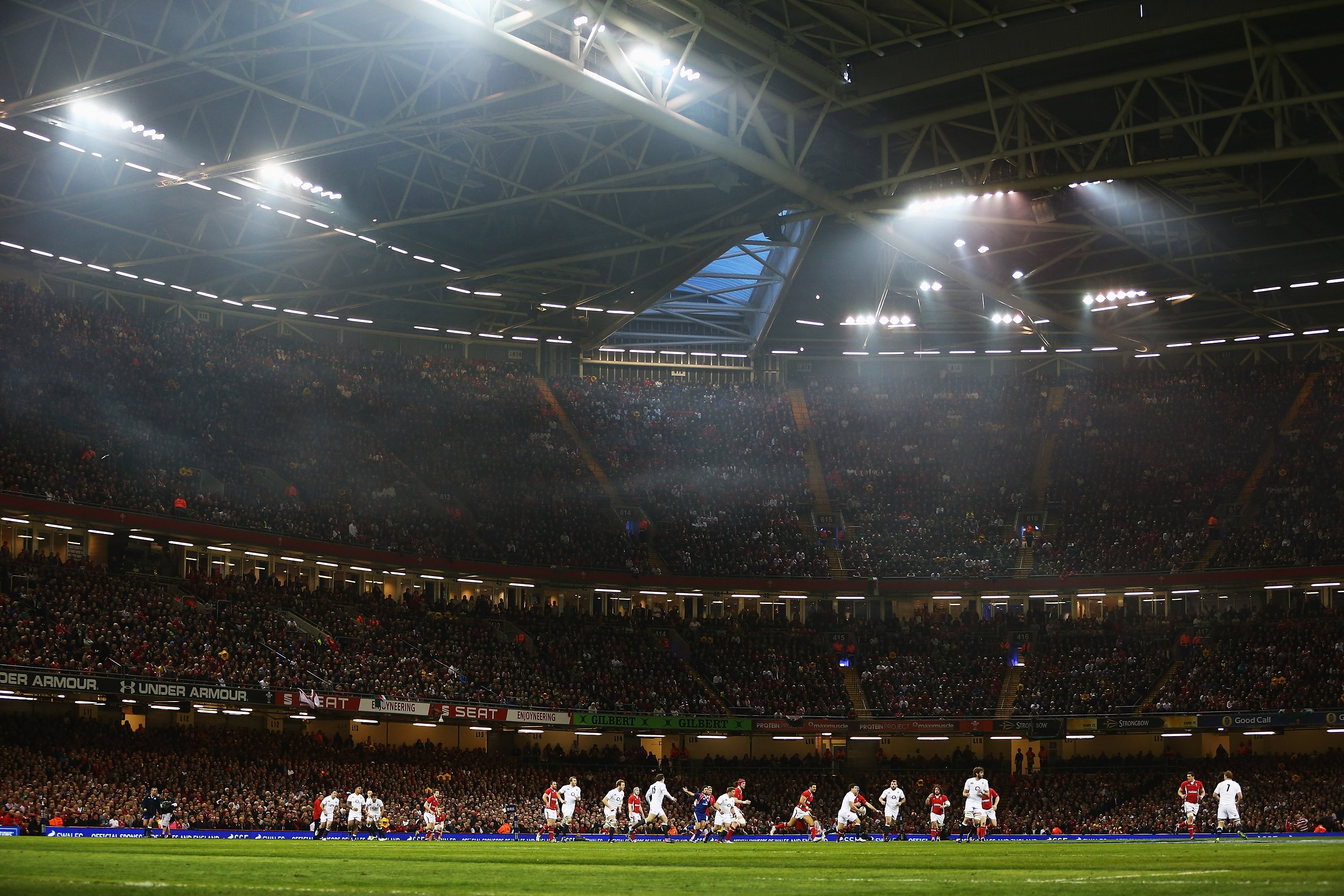 Wales v England at Millennium Stadium in the 2013 Six Nations