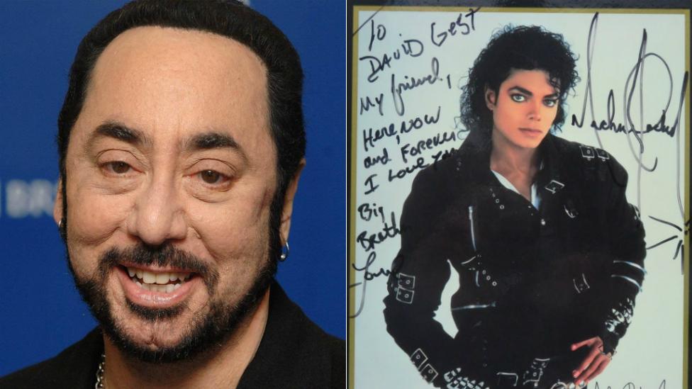 BBC News - David Gest memorabilia: Michael Jackson and Liza Minnelli items to be sold